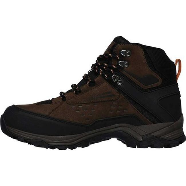 73f135b292b Skechers Men's Relaxed Fit Polano Norwood Hiking Boot Brown