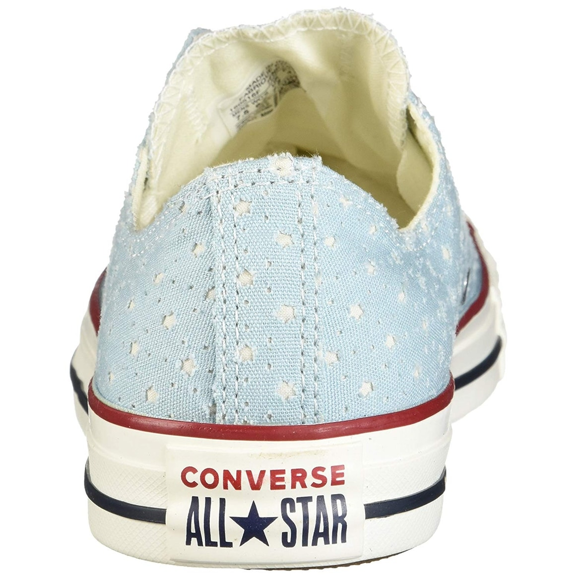 6012a08e19c5 Shop Converse Mens Perforated Stars Low Top Lace Up Fashion Sneakers - Free  Shipping On Orders Over  45 - Overstock - 26269025
