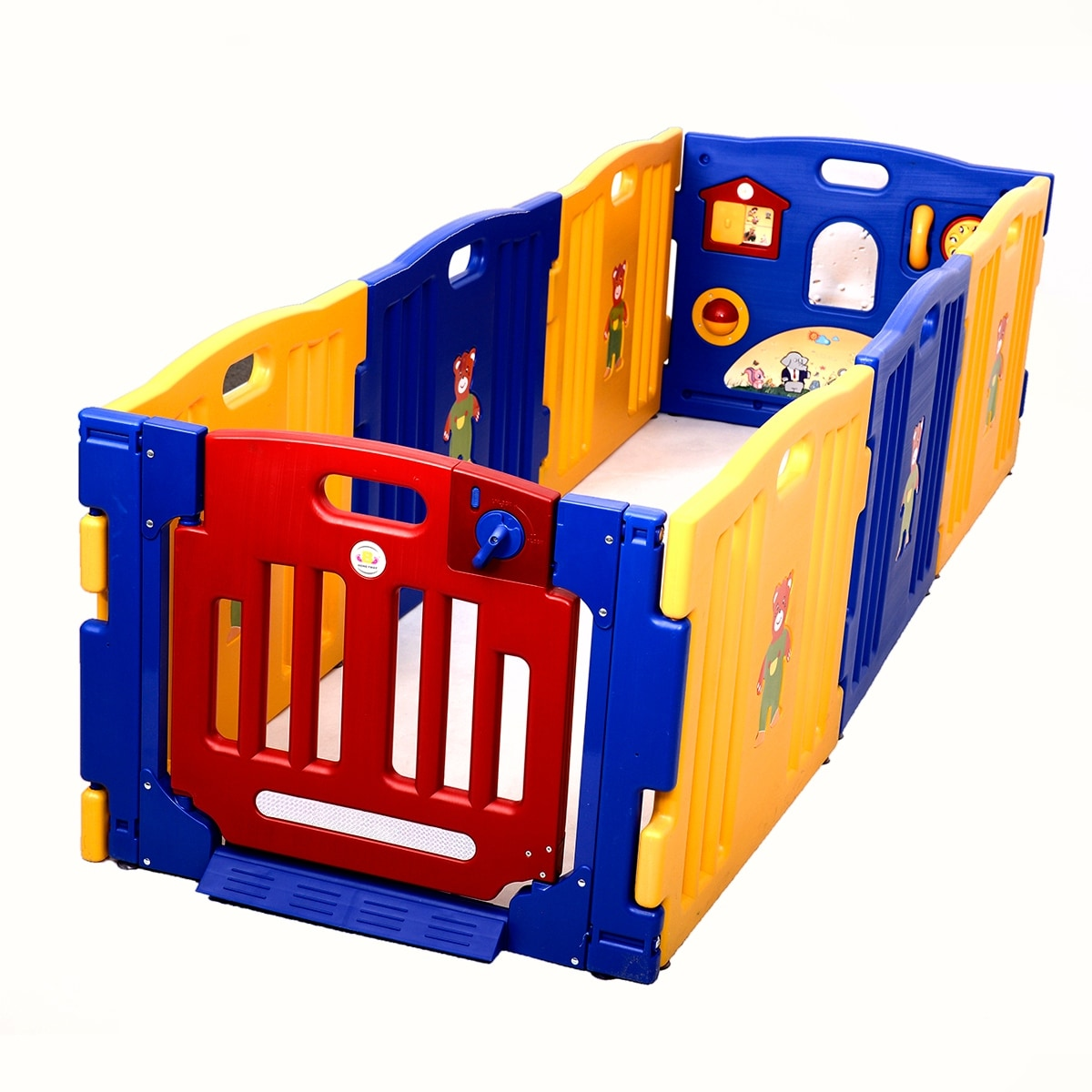 Costway Baby Playpen Kids 8 Panel Safety Play Center Yard Home Indoor Outdoor Pen On Free Shipping Today 15633687