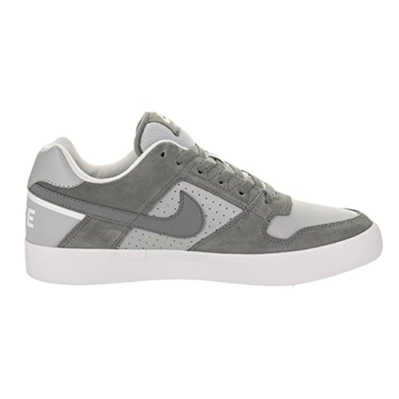 51f43b69e480ab Shop Nike Men s SB Delta Force Vulc Cool Grey Cool Grey Wolf Grey Skate Shoe  - cool grey cool grey wolf grey - Free Shipping Today - Overstock.com - ...