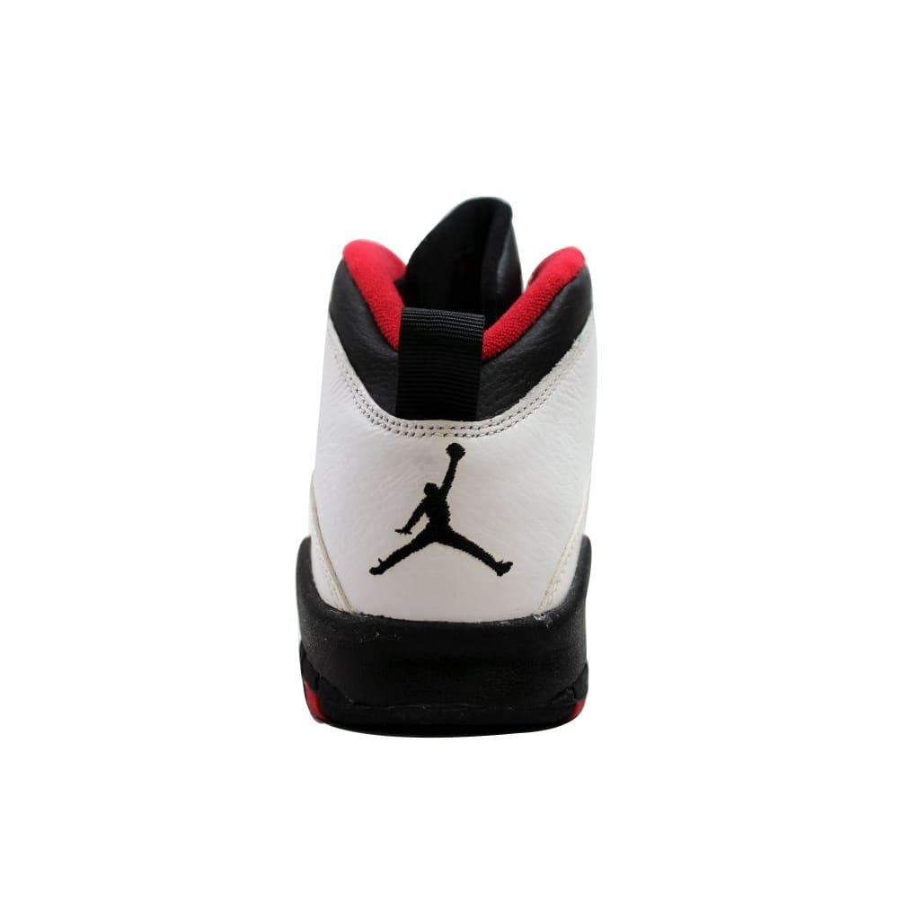 separation shoes 24cb0 28021 Shop Nike Grade-School Air Jordan X 10 Retro White Black-True Red Double  Nickel Chicago 310806-102 - Free Shipping Today - Overstock - 19507693
