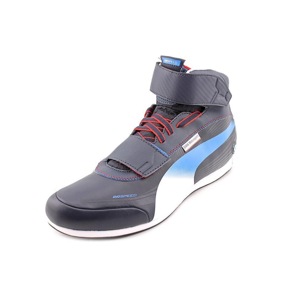 ae5a6b531ab3 Shop Puma Evospeed Mid BMW 1.2 NM Round Toe Synthetic Sneakers - Free  Shipping Today - Overstock.com - 18598037