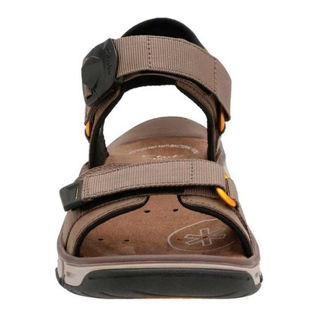 e4cce5efb8c77a Shop Clarks Men s Explore Part Walking Sandal Mushroom Nubuck Leather - On  Sale - Free Shipping Today - Overstock - 14236984