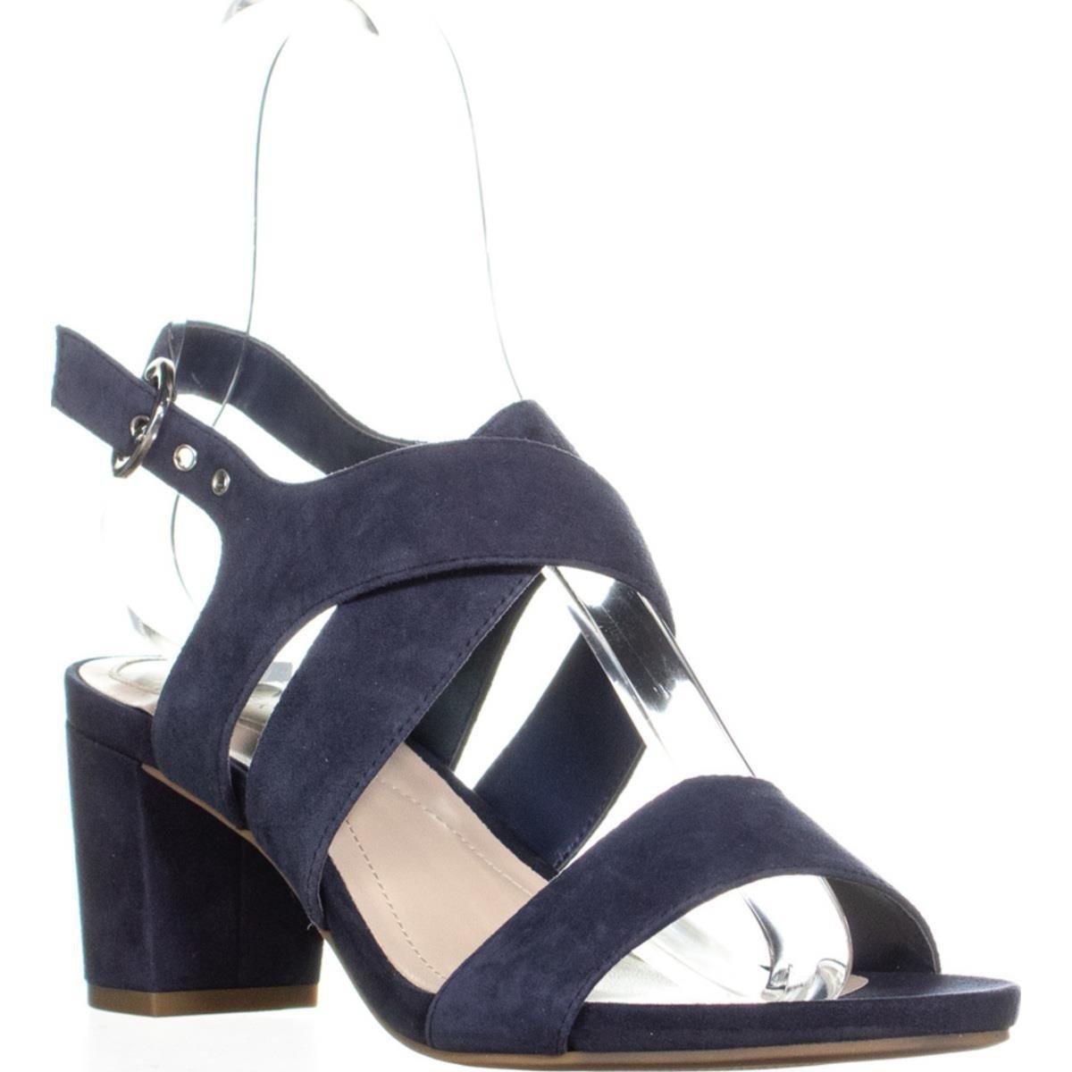 dc53fb1eb Shop A35 Regann Block-Heel Sandals, Moonstone - Free Shipping On ...