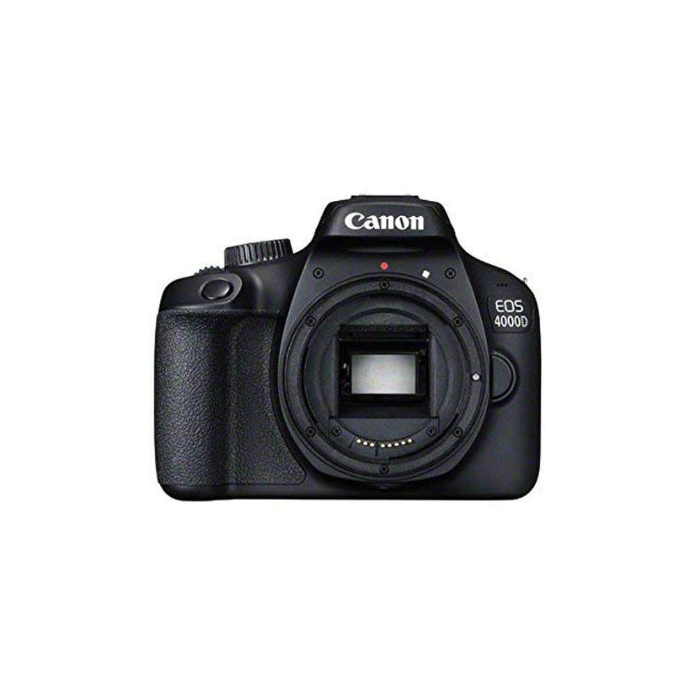 Shop Canon EOS 4000D DSLR Camera Body Only - Intl Model - Free Shipping  Today - Overstock.com - 25633621