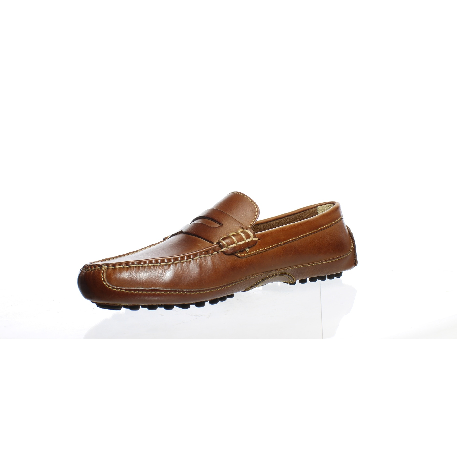 1b77ddb2a0e Shop Cole Haan Mens Grant Canoe Penny Papaya Loafers Size 9.5 - Free  Shipping Today - Overstock - 27980938
