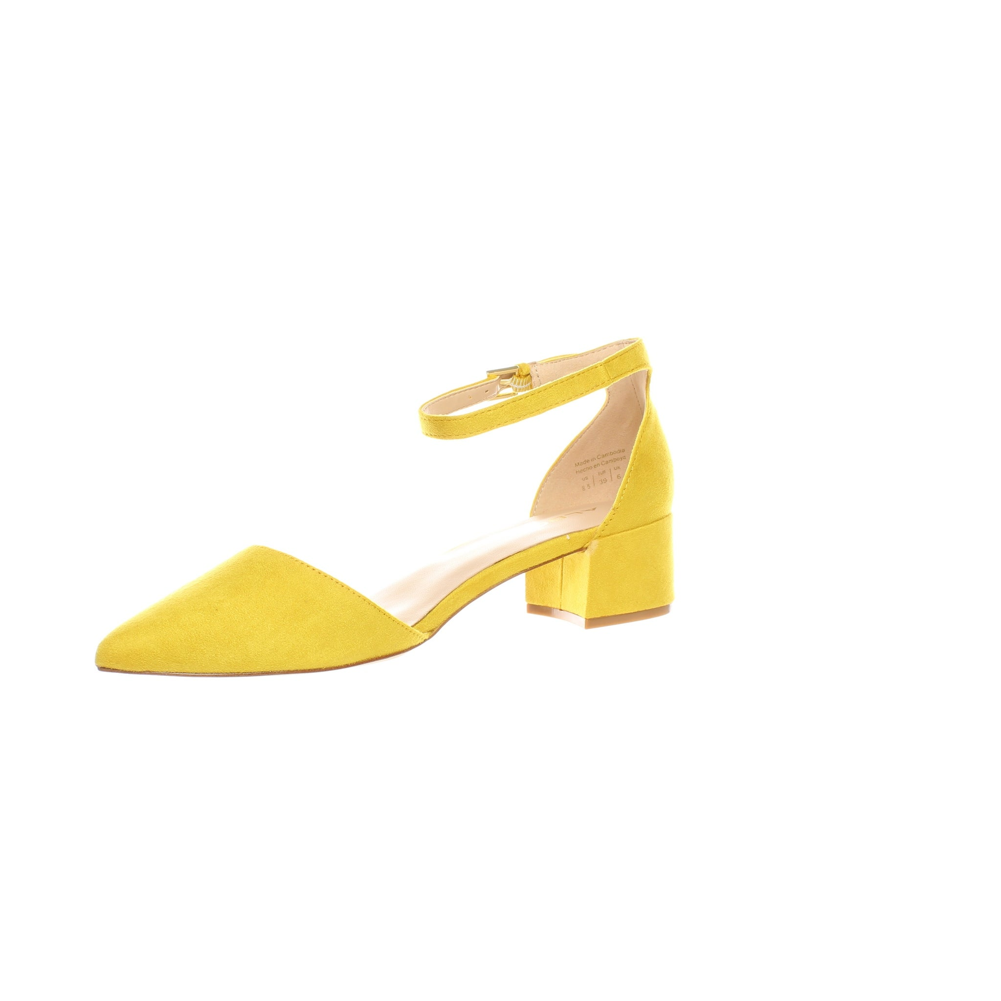 131d99f6e Shop ALDO Womens Zulian Mustard Ankle Strap Heels Size 8.5 - On Sale - Free  Shipping On Orders Over $45 - Overstock - 28113972