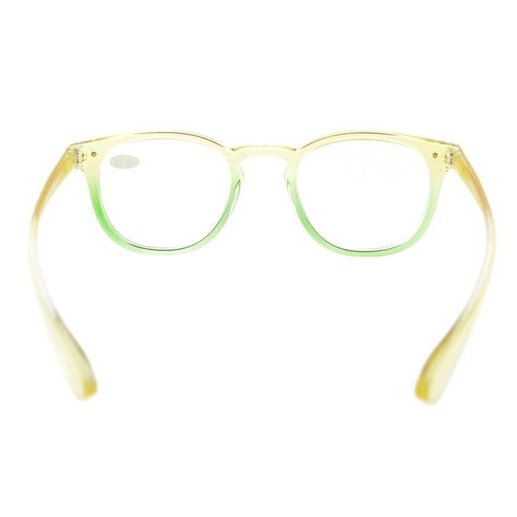 a655b590fe9 Shop Eyekepper Fashion Readers Womens Reading Glasses (Yellow-Green Frame