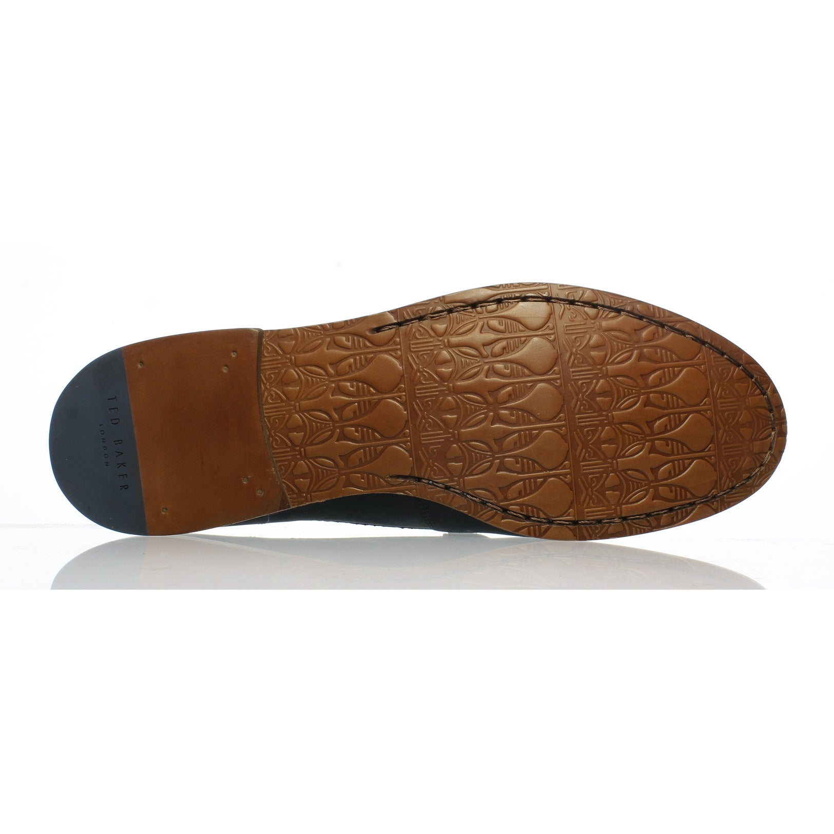 df7f5807f5181 Shop Ted Baker Mens 916309 Dark Blue Loafers Size 10 - Free Shipping Today  - Overstock.com - 25585958