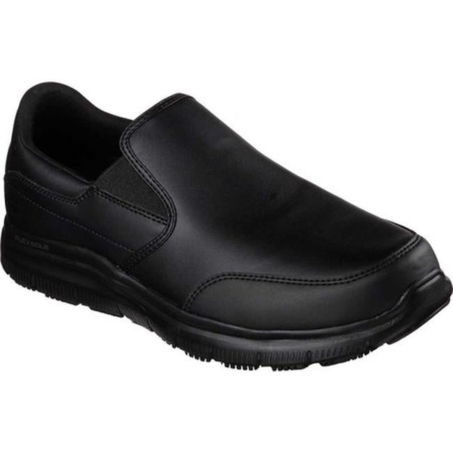 Shop Skechers Men S Work Relaxed Fit Flex Advantage Sr Bronwood