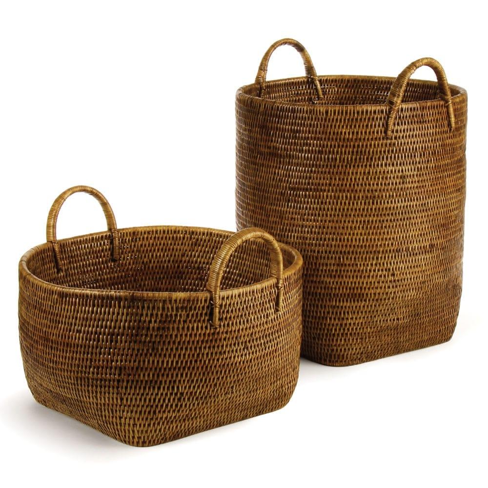 Shop Napa Home and Garden TN203 Burma Two Piece Rattan Basket Set ...