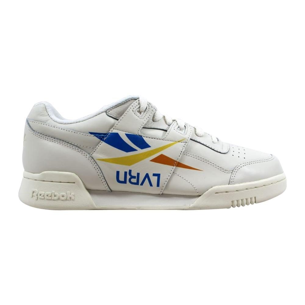 9b9a6ceca09 Shop Reebok Workout Plus 3AM ATL Chalk Blue-Yellow-Orange DV4844 Men s - On  Sale - Free Shipping Today - Overstock - 22531469