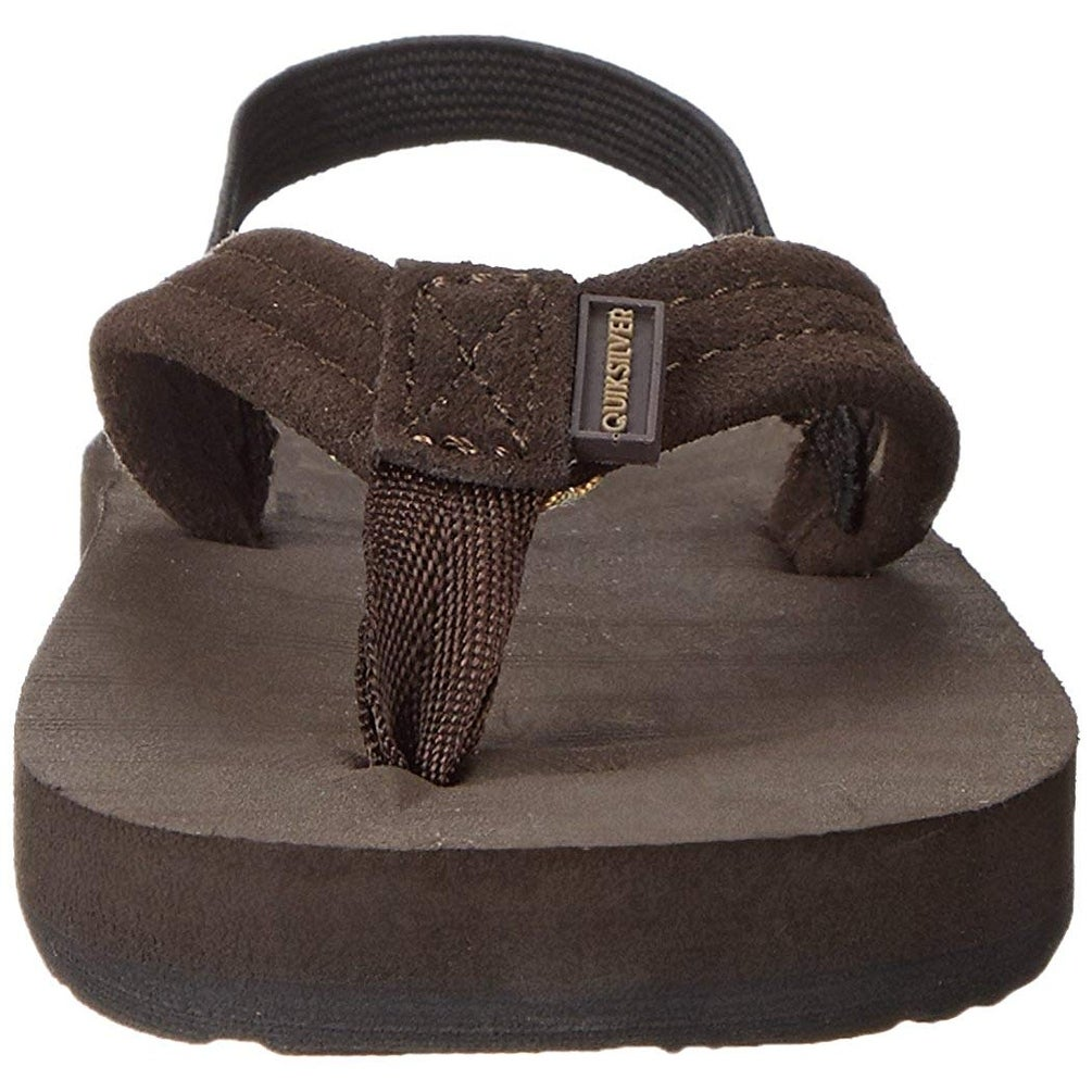 feb0350daef7 Shop Quiksilver Carver Suede Toddler Flip Flop (Toddler) - 6 M US Toddler -  Free Shipping On Orders Over  45 - Overstock - 27622592