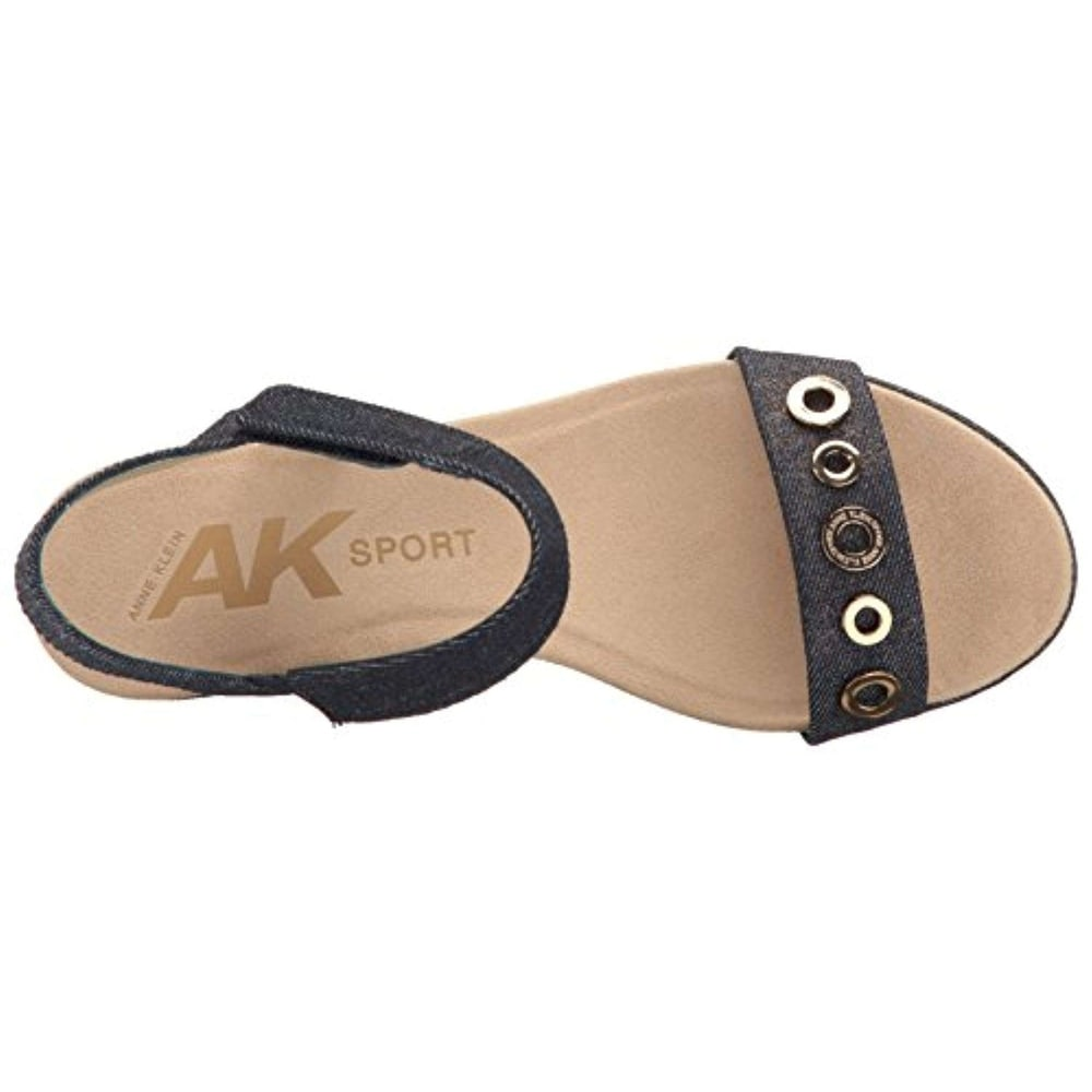 177bfe14d90 Shop Anne Klein Womens Pelonia Fabric Open Toe Casual Platform Sandals -  Free Shipping On Orders Over  45 - Overstock - 21621868