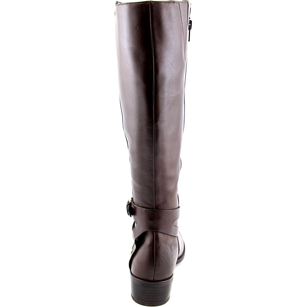 26ca063fa25 Shop Lauren Ralph Lauren Mariah Wide Calf Dark Brown Boots - Free Shipping  On Orders Over  45 - Overstock - 13634551