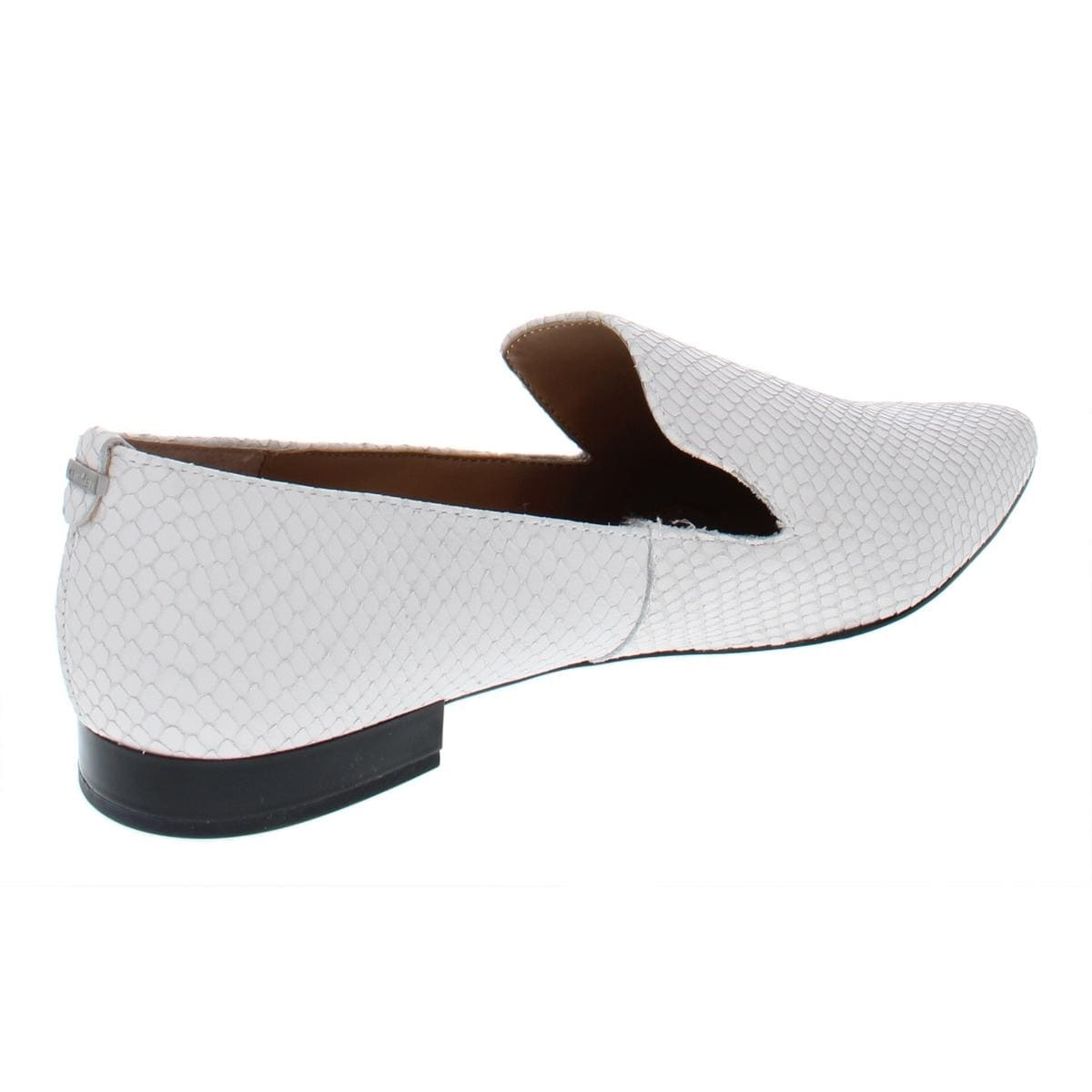 ae6d2edd36a Shop Calvin Klein Womens Elin Smoking Loafers - Free Shipping On Orders Over   45 - Overstock - 21285987