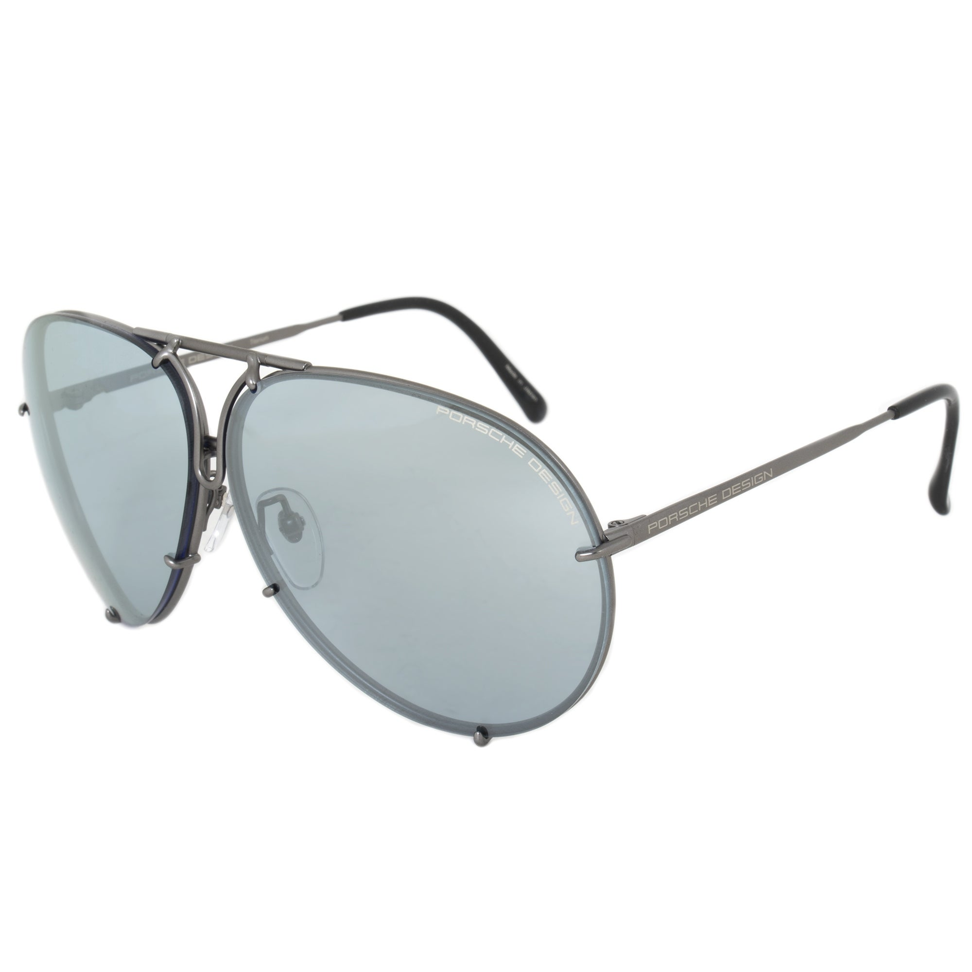 90142e167d6 Shop Porsche Design Design P8978 C 69 Aviator Sunglasses for Men ...