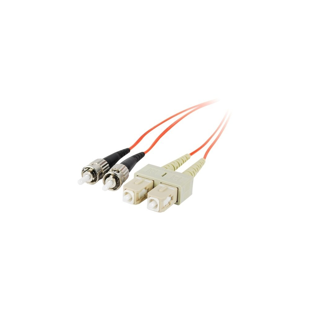 Shop Siig Cb Fe0911 S1 2m Multimode 625 125 Duplex Fiber Patch Usb To Wiring Schematic Cable St Sc 2 X Male Network Orange On Sale Free