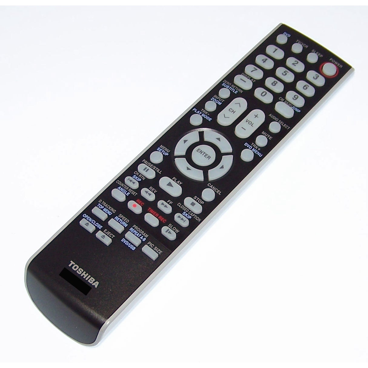 OEM Toshiba Remote Control Shipped With MW26H82/TV, MW26H82, MW27H62,  MW27H62/TV