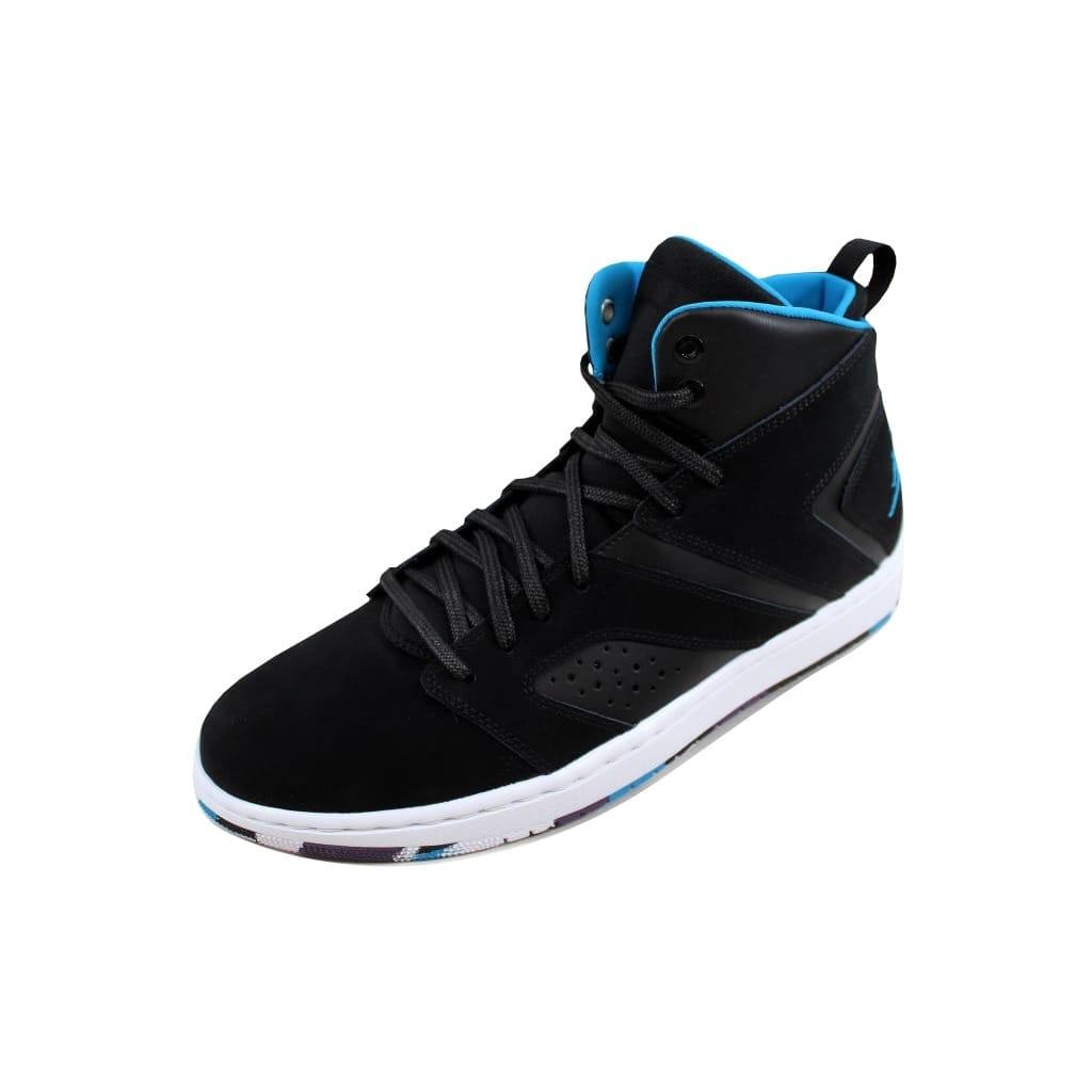 b5ee9839f3ab Nike Men s Air Jordan Flight Legend Black Blue Lacquer-White AA2526-005