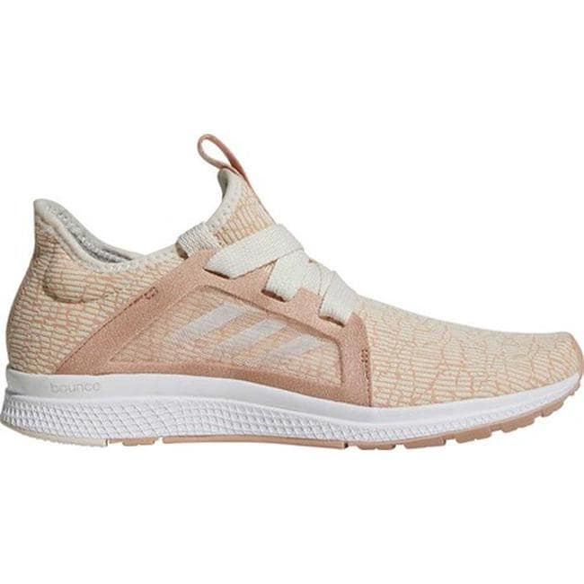super popular c6cb3 06ee1 Shop adidas Womens Edge Lux Running Shoe Ash PearlChalk WhiteChalk Coral  - Free Shipping Today - Overstock - 20725687