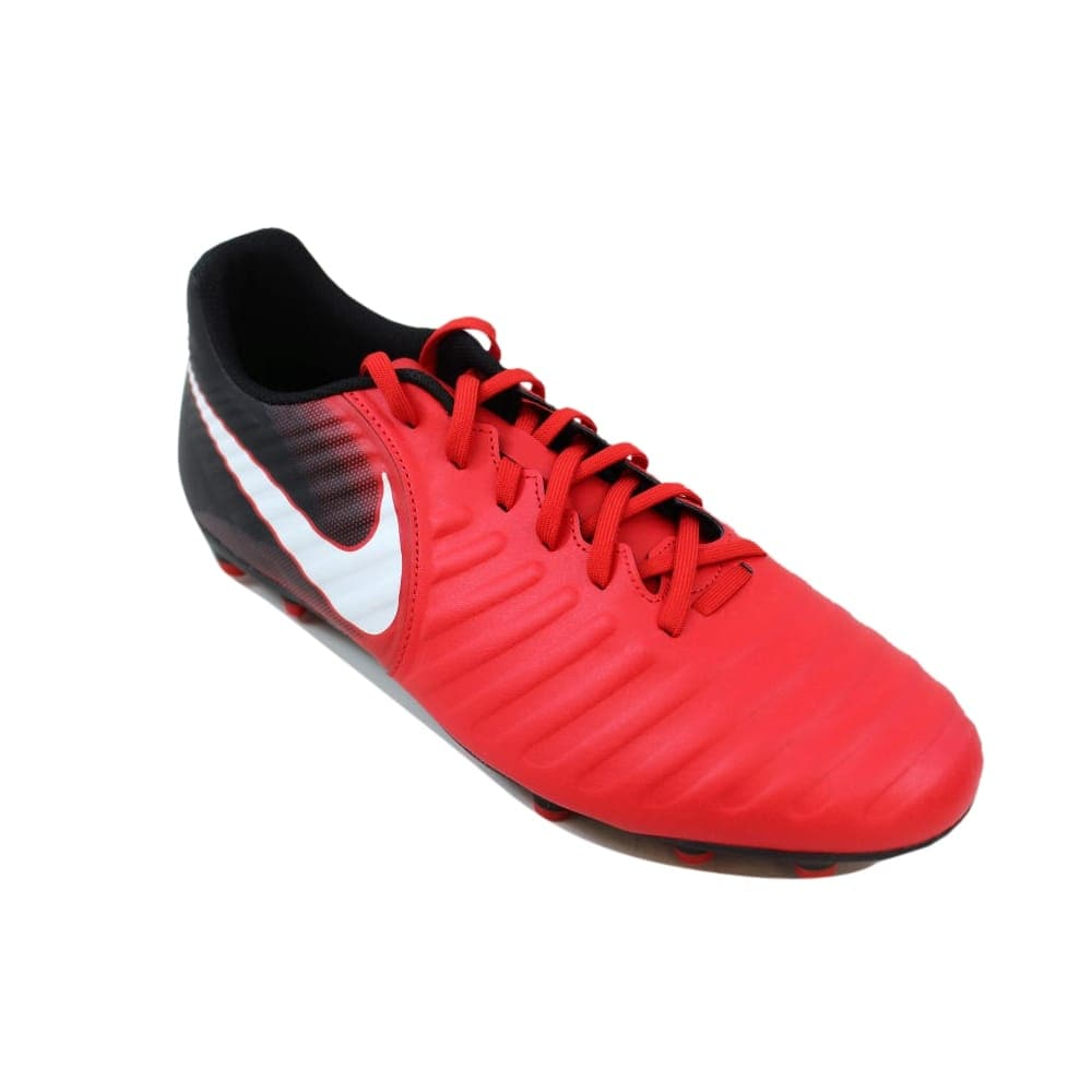 brand new a408b 98e16 Shop Nike Tiempo Rio IV 4 FG University Red White-Black Men s 897759-616  Size 10.5 Medium - Free Shipping On Orders Over  45 - Overstock - 27339982