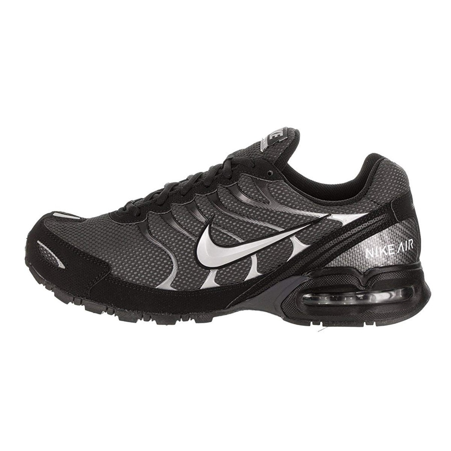9a4d8d08a6002 Shop Nike Men Air Max Torch 4 Running Shoe Anthracite Metallic Silver Black  Size 9.5 M Us - Free Shipping Today - Overstock - 25590754