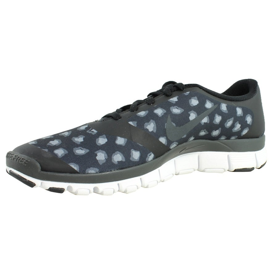 7aec58480efb Shop Nike Womens Free 5.0 V4 Black Anthracite DarkGrey White Running Shoes  Size - On Sale - Free Shipping On Orders Over  45 - Overstock.com - 23465534