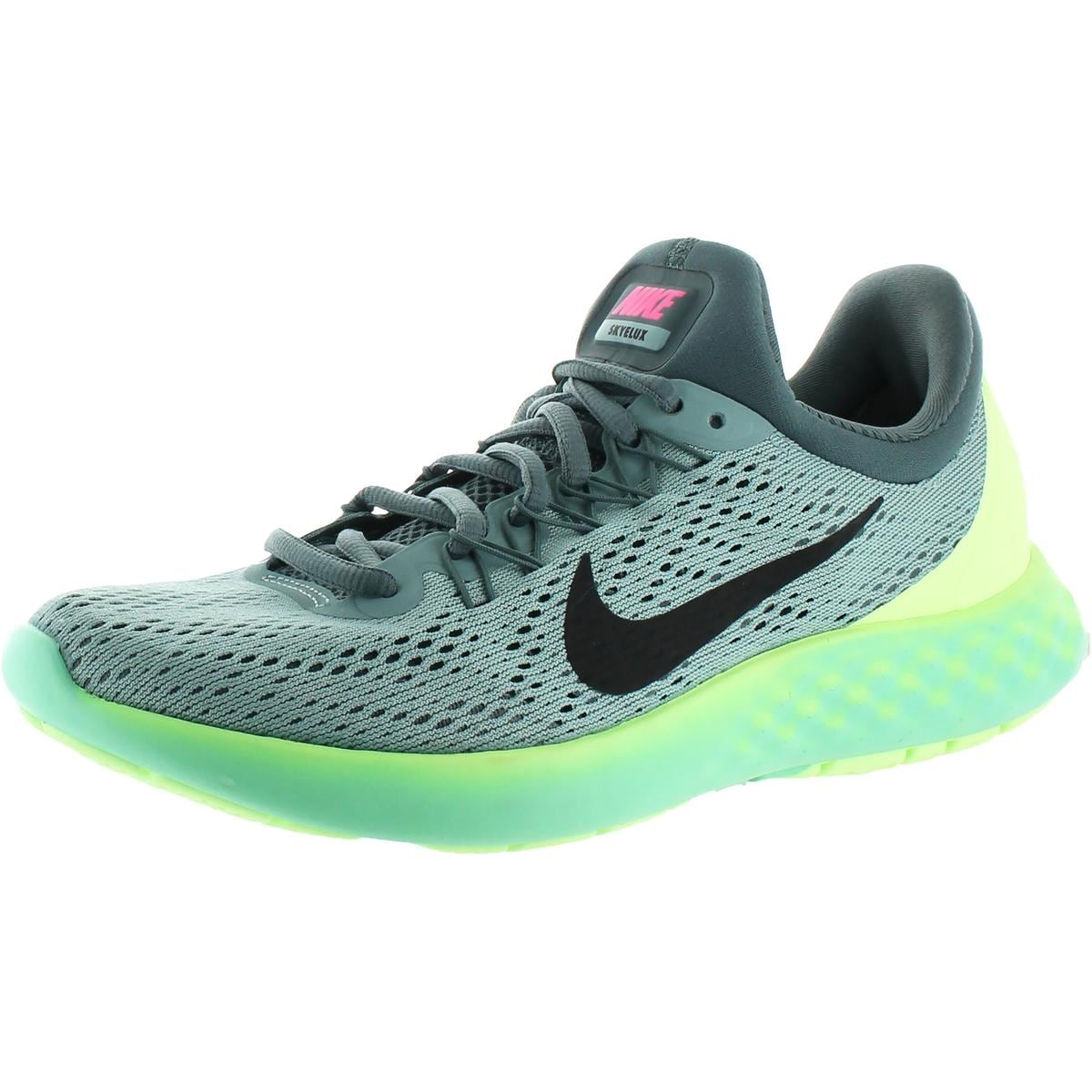 863e5277ff1 Nike Womens Lunar Skyelux Running Shoes Round Toe Lace-Up