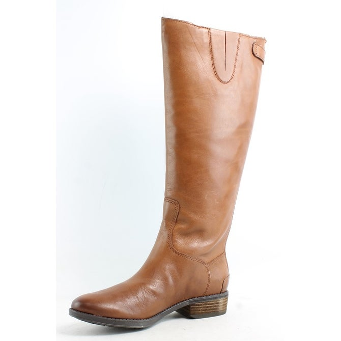 2d83f2d5f Shop Sam Edelman Womens Penny Whiskey Leather Riding Boots Size 6.5 - On  Sale - Free Shipping On Orders Over  45 - Overstock - 26474893
