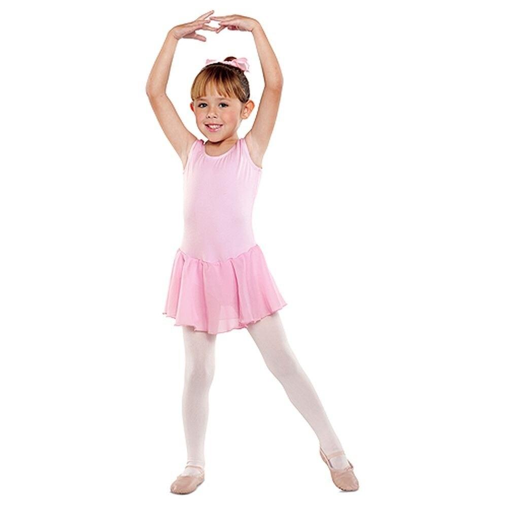 614ecc694ae3 Shop Danshuz Toddler Little Girls Pink Sleeveless Dance Dress 2T-14 ...