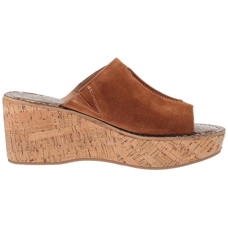 0dd308f745da Shop Sam Edelman Women s Ranger Wedge Sandal - Free Shipping On Orders Over   45 - Overstock - 21732187