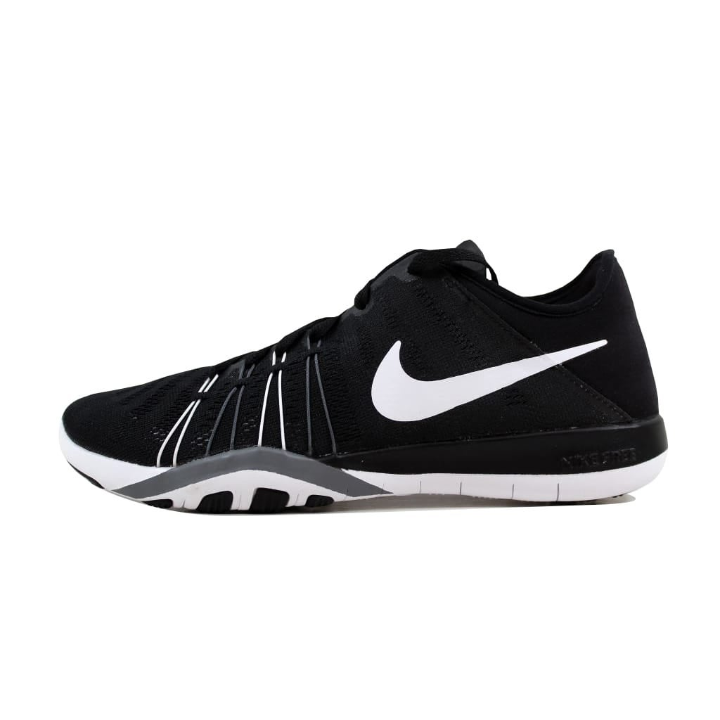 big sale 5185f bce40 Shop Nike Free TR 6 Black White-Cool Grey 833413-001 Women s - Free  Shipping Today - Overstock - 22919296
