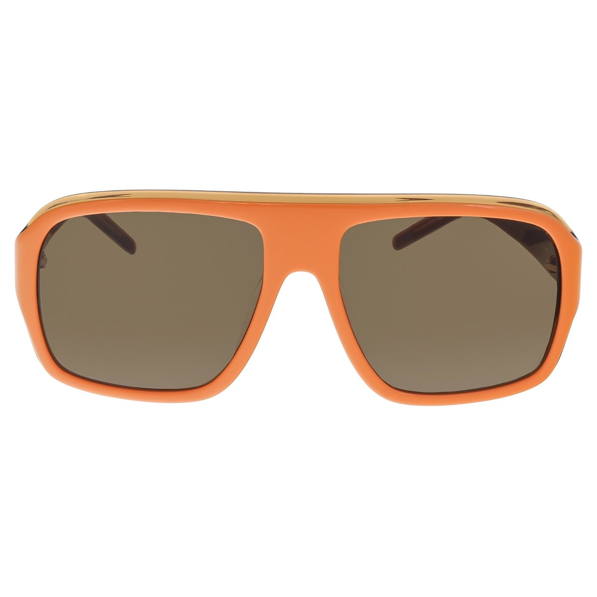Shop lacoste l 643s 800 orange modified aviator sunglasses 57 17 135 free shipping today overstock 13402587