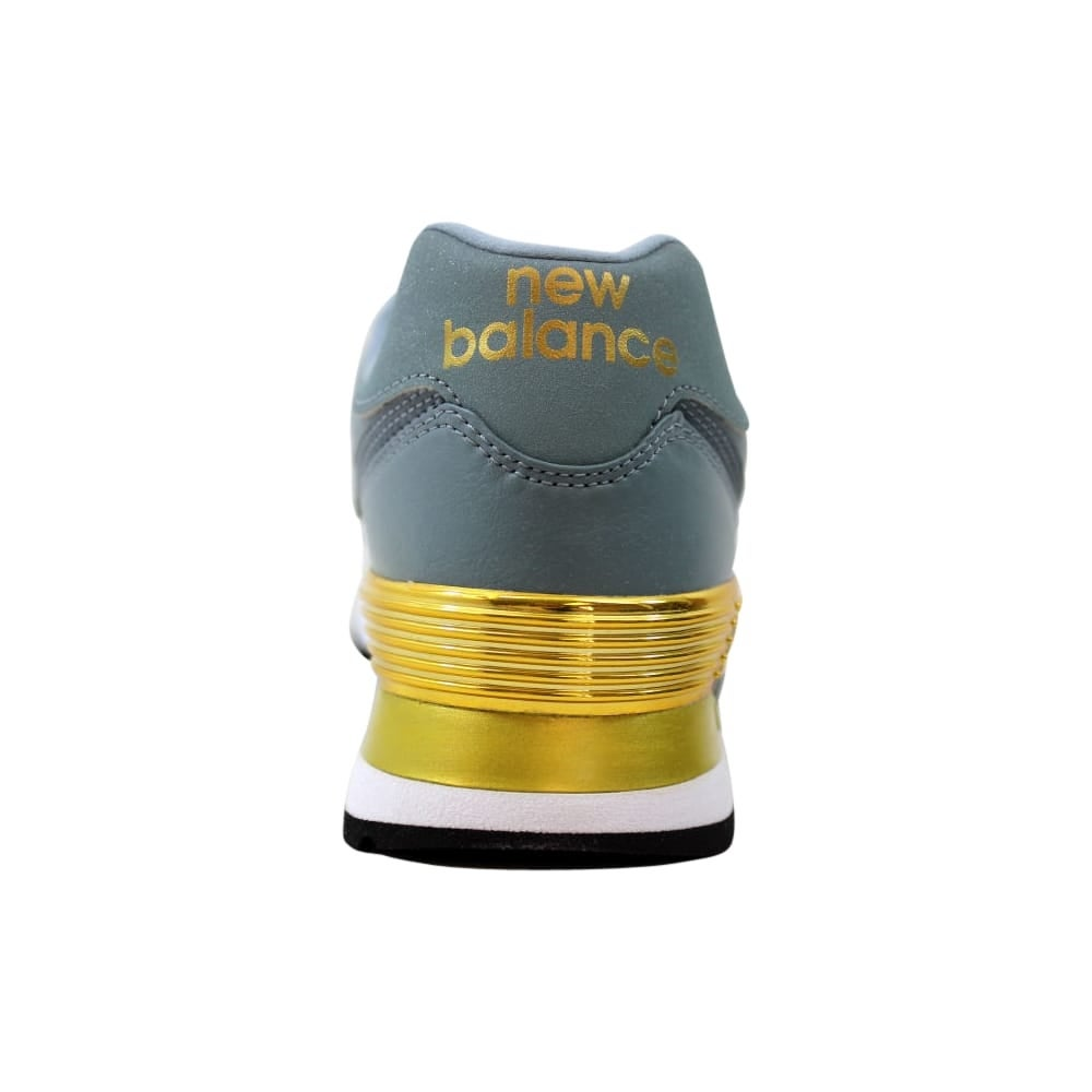 the latest 1b2f6 3e243 Shop New Balance 574 Gold Dip Slate Gold WL574URB Women s - Free Shipping  Today - Overstock - 27640585