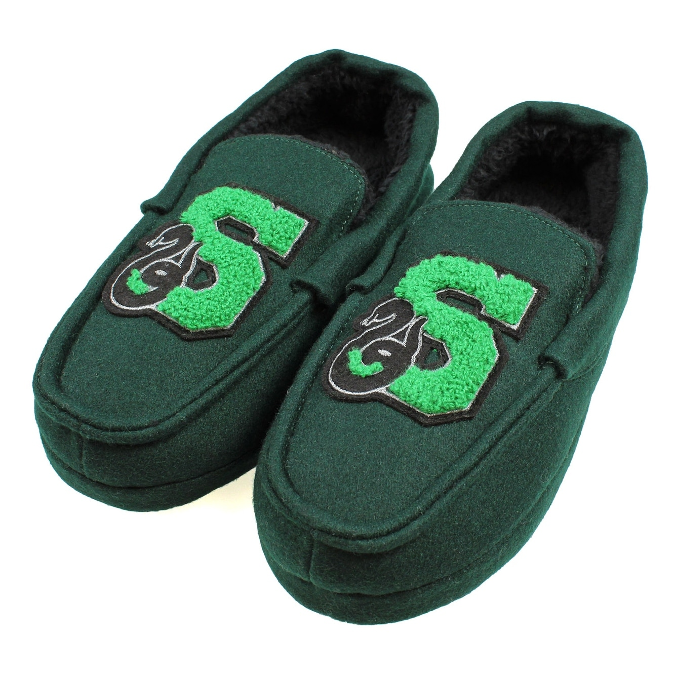 cc87a66a355 Shop Harry Potter Men s Slytherin House Moccasin Slippers - Free ...