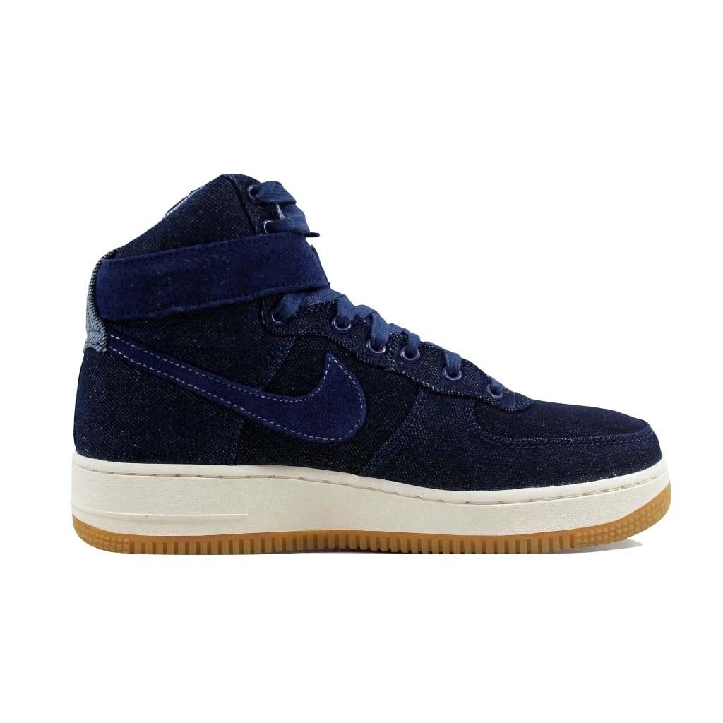 on sale c0786 a5bd6 Nike Air Force 1 Hi SE Binary Blue Muslin-Sail Denim 860544-400 Women s