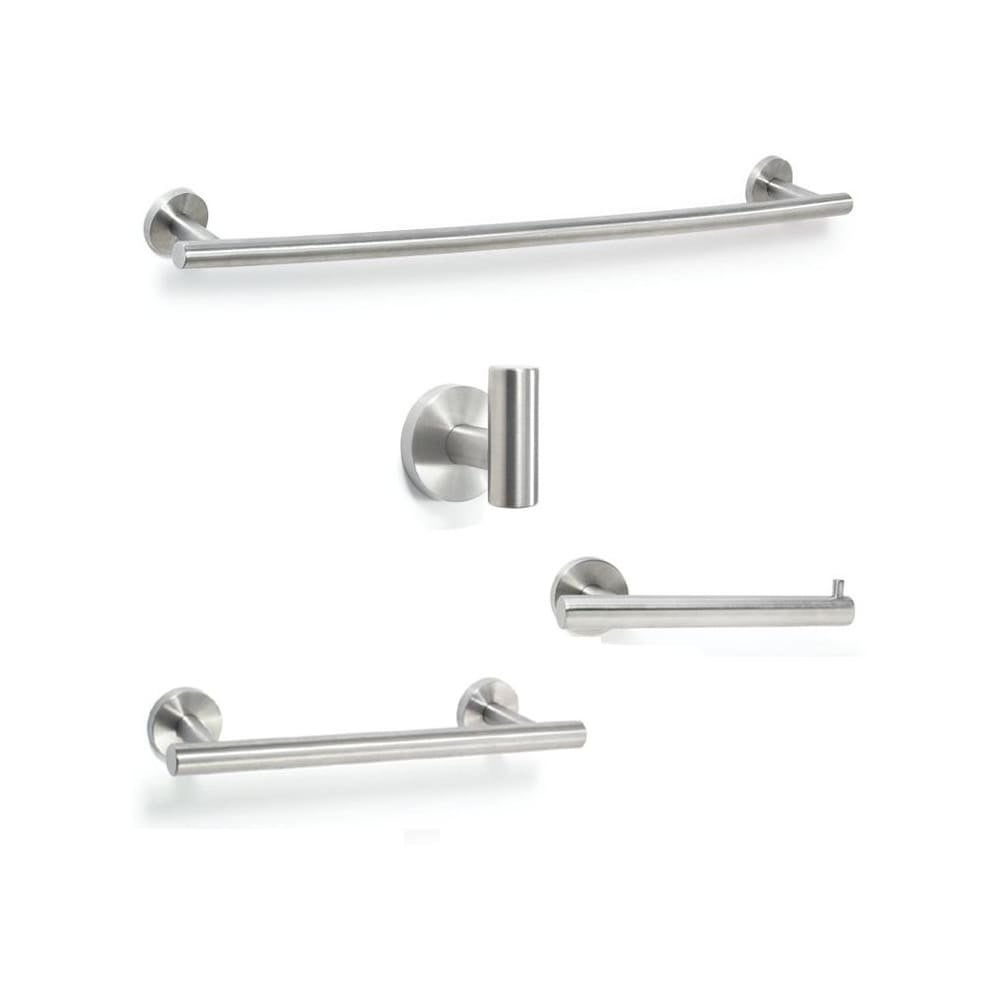 Shop Amerock ARRONDI-8 Arrondi Collection Bathroom Hardware Set with 7-1/4 Inch Tissu - n/a - Free Shipping Today - Overstock.com - 22910652