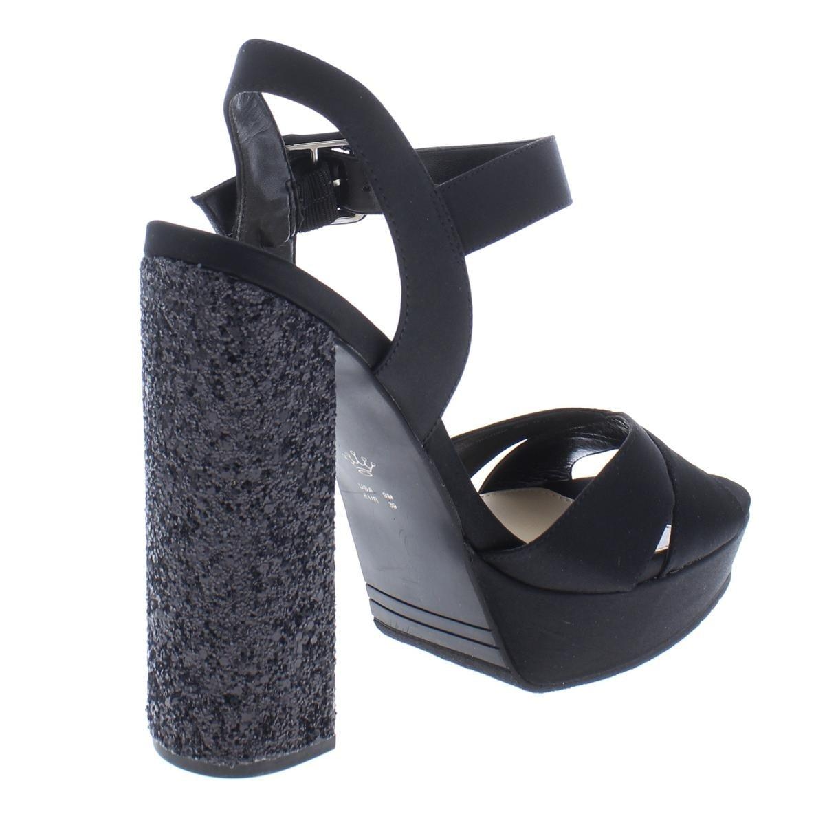 5457698f4f Shop Nina Womens Savita Platform Sandals Satin Glitter - Free Shipping On  Orders Over $45 - Overstock - 24206248