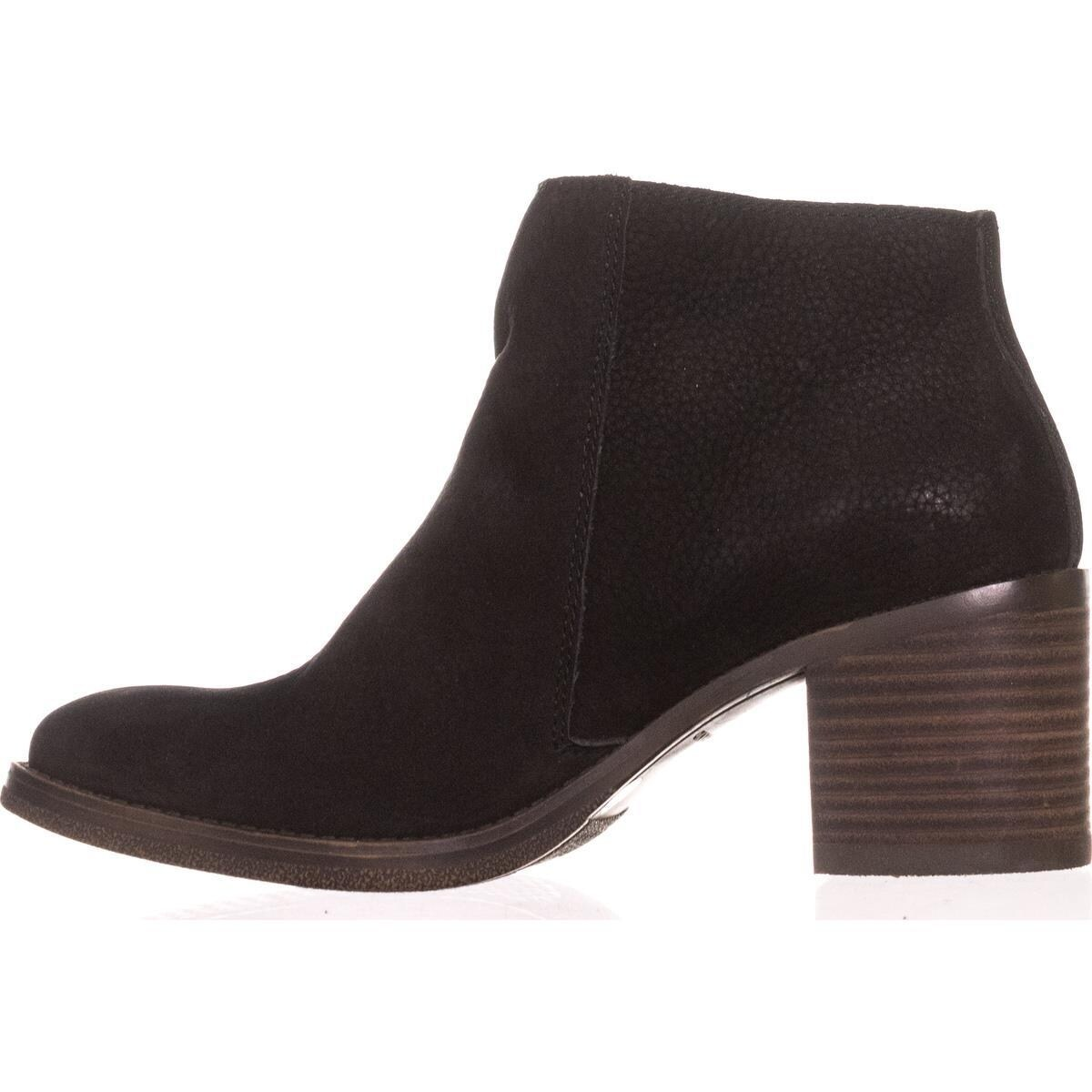 721798adb8b Lucky Brand Roquee Double Zipper Ankle Boots, Black