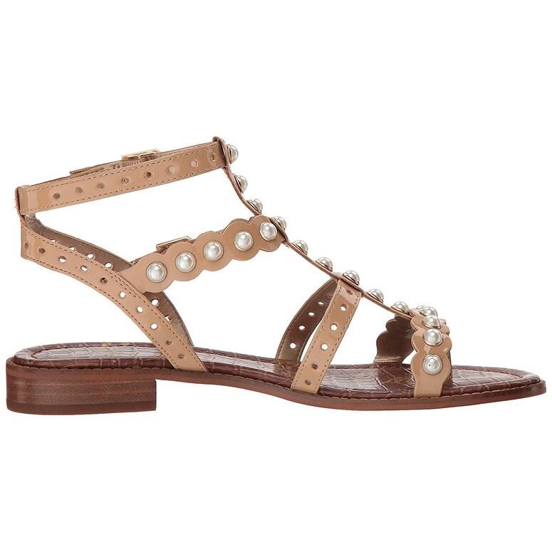 3f0205cc02b3 Shop Sam Edelman Women s Elisa 2 Flat Sandal - Free Shipping Today -  Overstock - 25573007