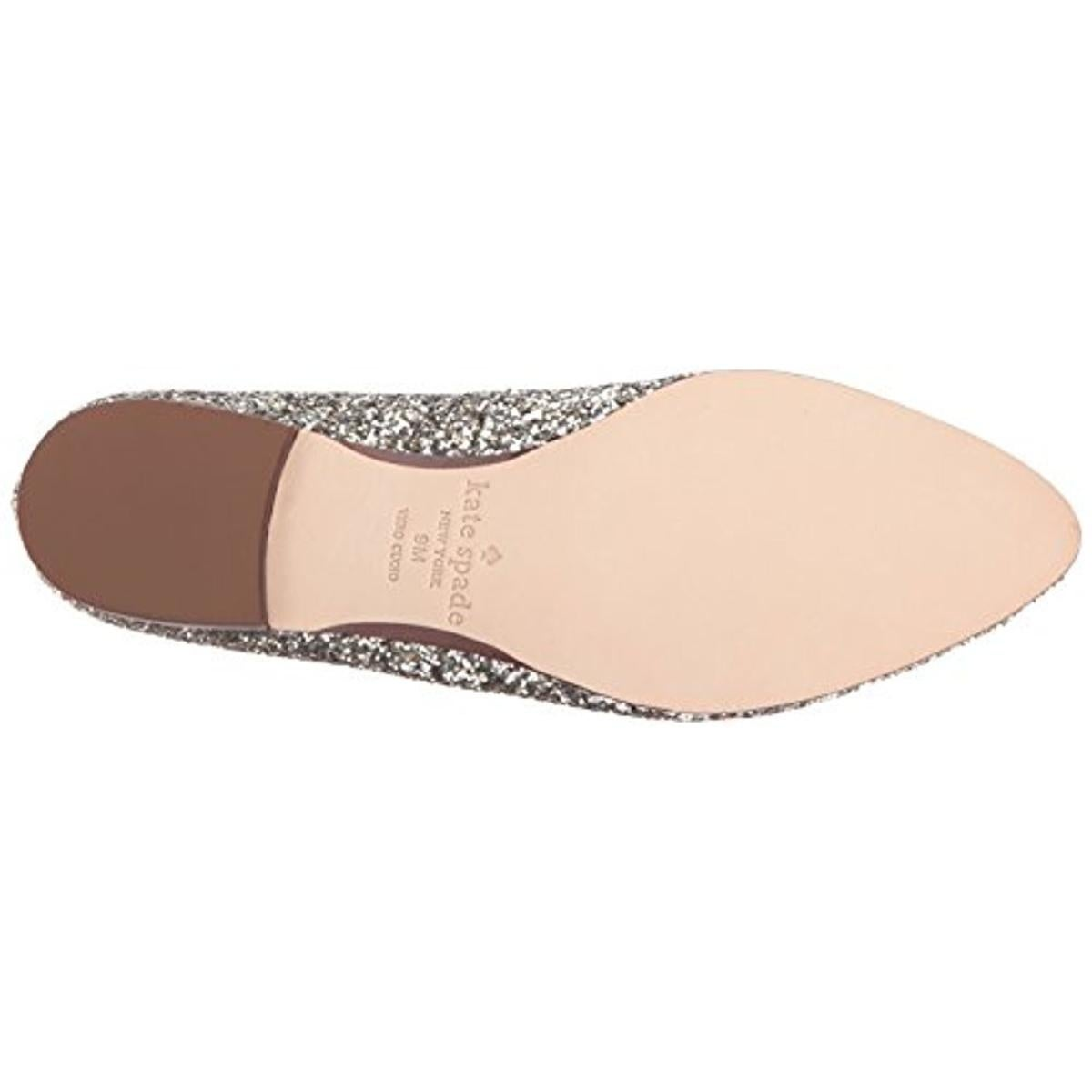 39a1716716fd Shop Kate Spade Womens Calliope Loafers Glitter Almond Toe - Free Shipping  Today - Overstock - 21009570