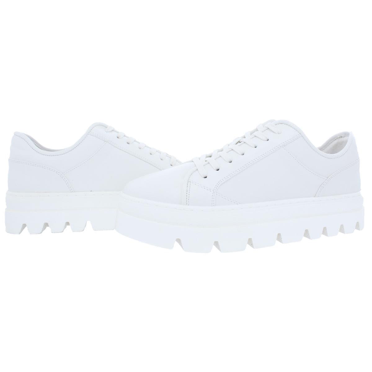 1ad1d856f3d Steve Madden Womens Kickstart Fashion Sneakers Contrast Trim Platform