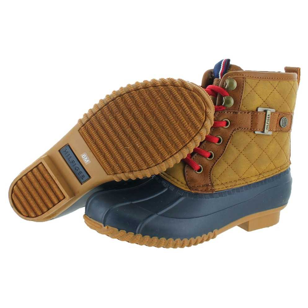 02d1d2edc21a Shop Tommy Hilfiger Ravel 2 Women s Quilted Duck Boots - Free ...