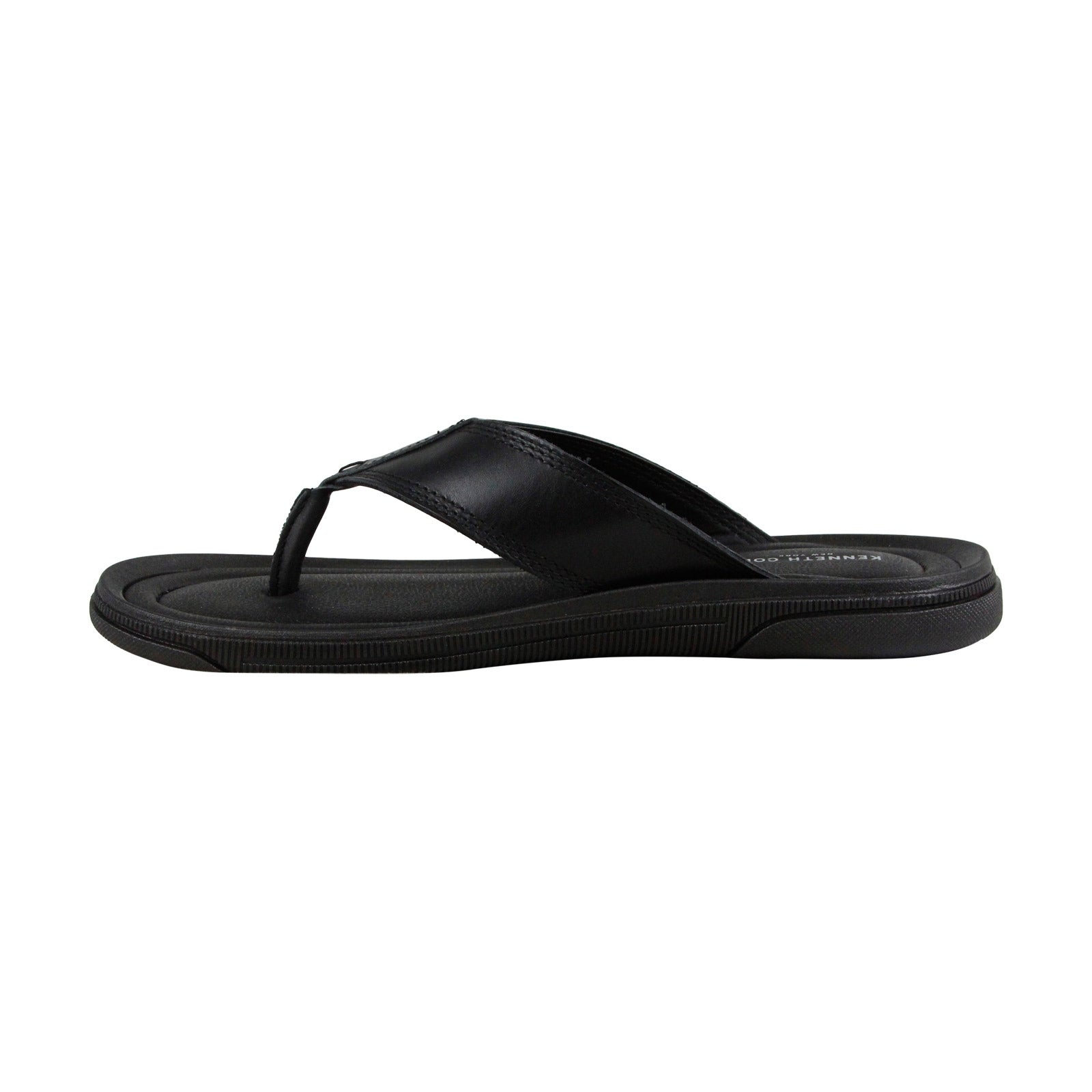 a393bb50f981 Shop Kenneth Cole New York Yard Sandal B Mens Black Flip Flops Sandals  Shoes - Free Shipping On Orders Over  45 - Overstock - 22410192