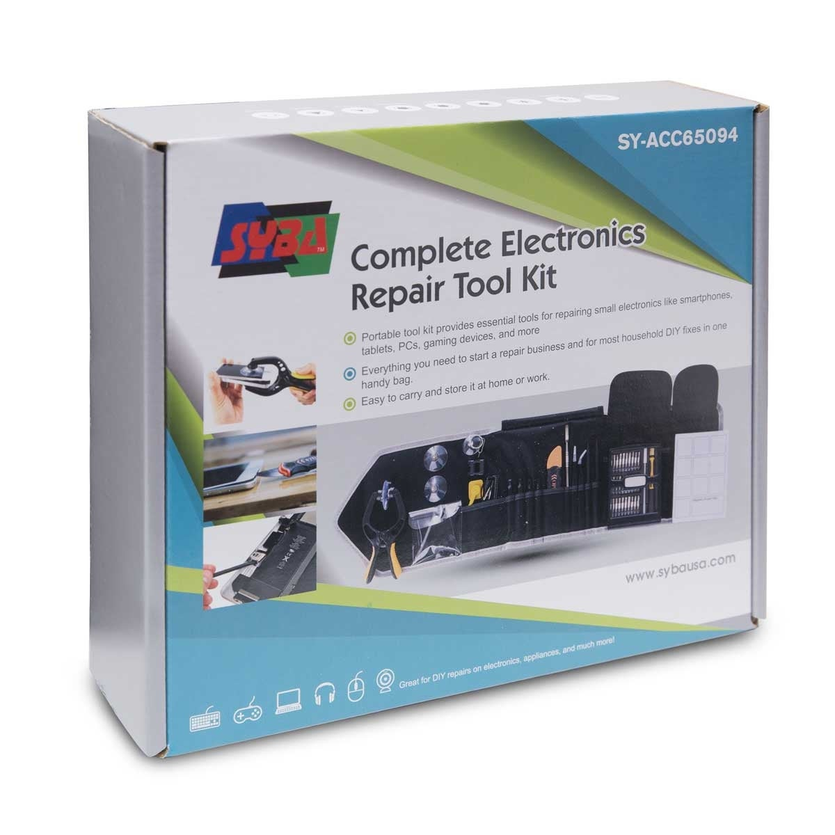 Complete Essential Electronic Repair Tool Kit  Repair electronics devices  from mobile phones to laptop