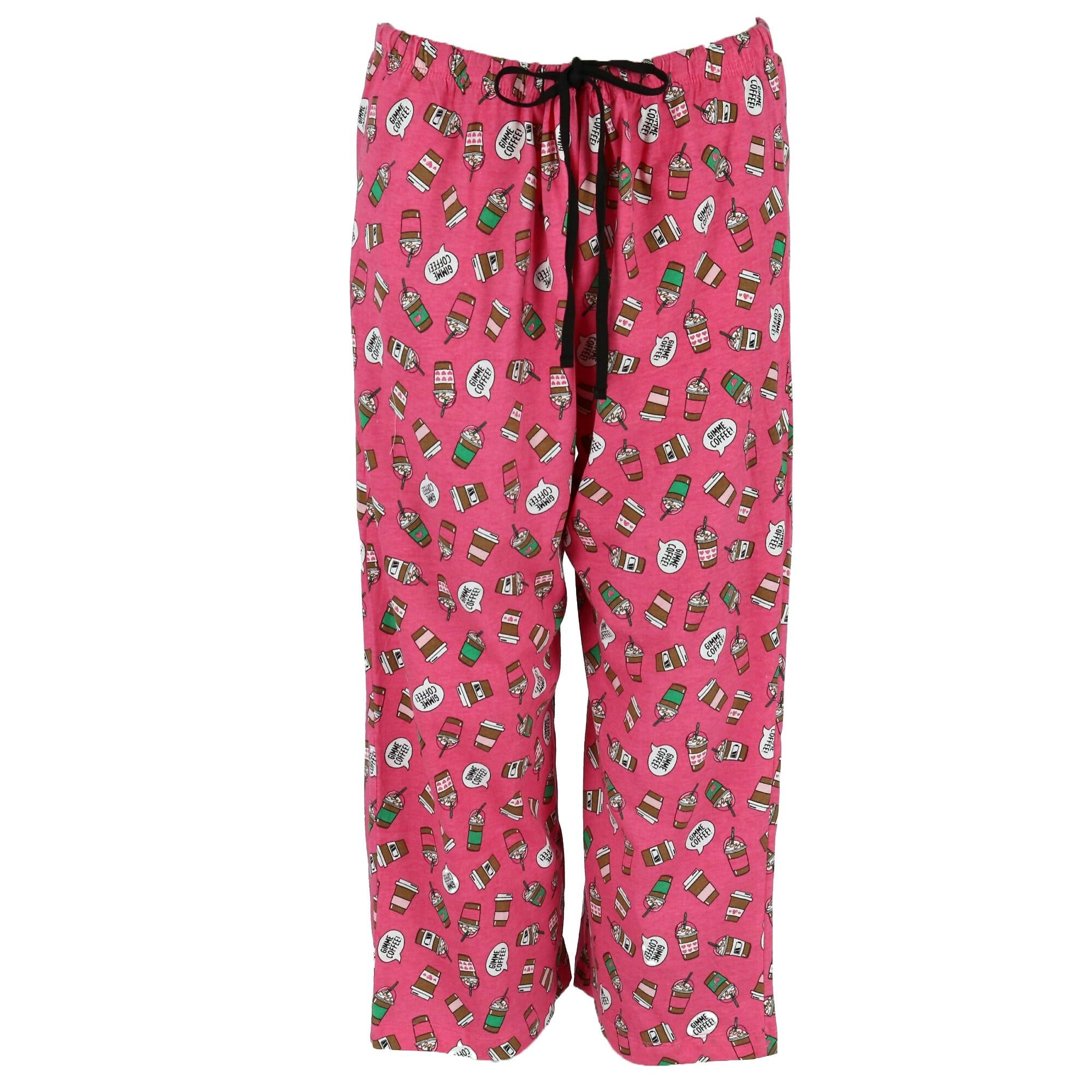 571f798f263a Shop Rene Rofe Women's Plus Size Conversational Capri Pajama Set - Free  Shipping On Orders Over $45 - Overstock - 26438040