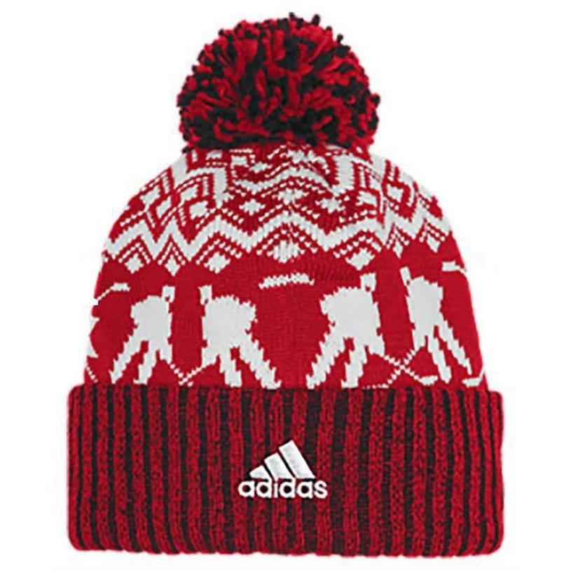 newest 0a97d deba1 Shop Adidas Men s NHL Chicago Blackhawks Stocking Knit Hat Beanie Winter Red  11FIZ - Free Shipping On Orders Over  45 - Overstock - 26051681