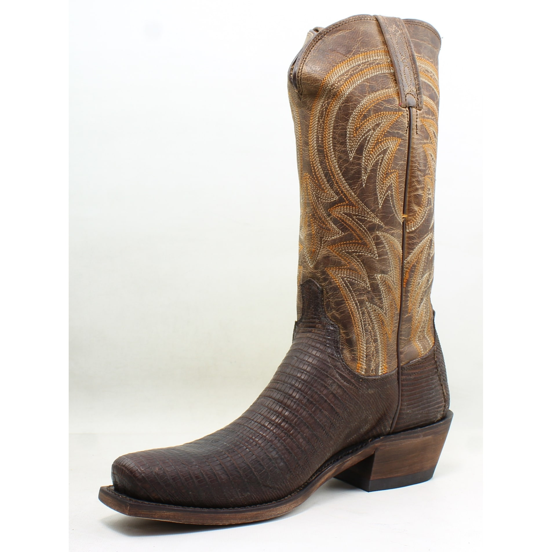 0fe6630772b Lucchese Mens M2904.74 Tan Cowboy, Western Boots Size 8.5