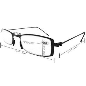 49b3638477de Eyekepper 3-Pack Lightweight Stainless Steel Frame Reading Glasses Black  +2.5 - Free Shipping On Orders Over  45 - Overstock - 22311919